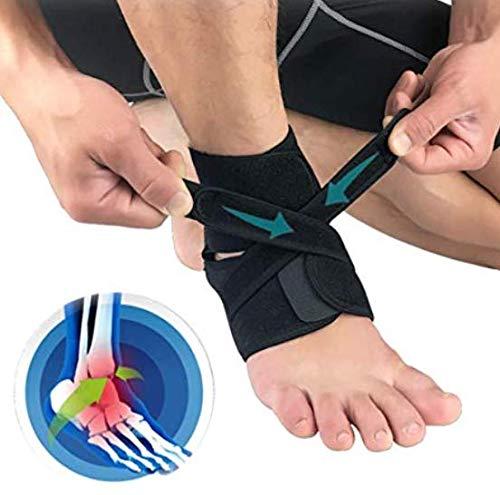 Haltungskorrektur Sprunggelenk Bandage Medizinische Fussbandage, Sprungelenkbandage, Knöchelbandage mit Klettverschluss, Fussgelenk Schmerzlinderung, Klein - Unisex - Damen, Herren 1pcs