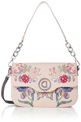 Damen Tasche DESIGUAL Bols Print 13 amorgos 20saxpe9 uni powder pink