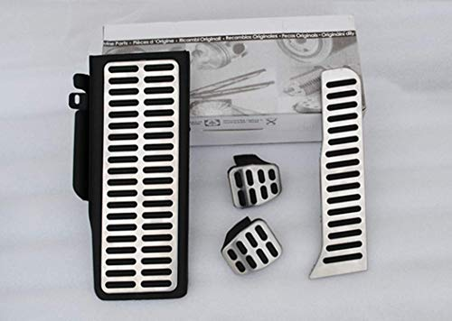 Geeignet für Tiguan accelerator Auto Ersatzpedal Pedal Bremse und Gas Pedal Covers Zubehör Rutschfeste Pedale Set MT 4Stück