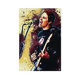 Billy-Corgan - Póster de cancionista de guitarra para decoración de pared, para sala de estar, dormitorio, decoración, 30 x 45 cm