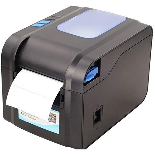 AMAIRS Imprimante D'étiquettes Thermique, Imprimante De Codes À Barres D'étiquettes De Bureau Imprimante Thermique De Reçus De 20 À 80mm Port USB pour L'adresse Logistique des Étiquettes De Produits