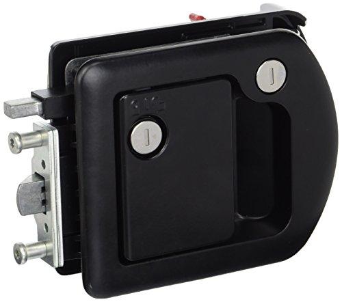 TriMark 601650 Door Handle, Black, 5-3 4  x 5-1 4 (WxH)
