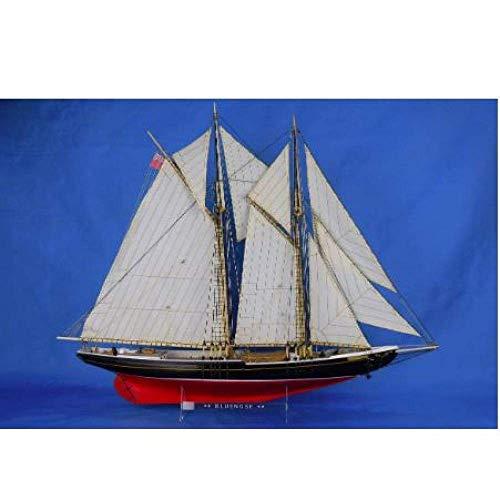 HDHUIXS Desafiante Decoraciones de Madera del Barco de Vela del Atlántico Modelo...