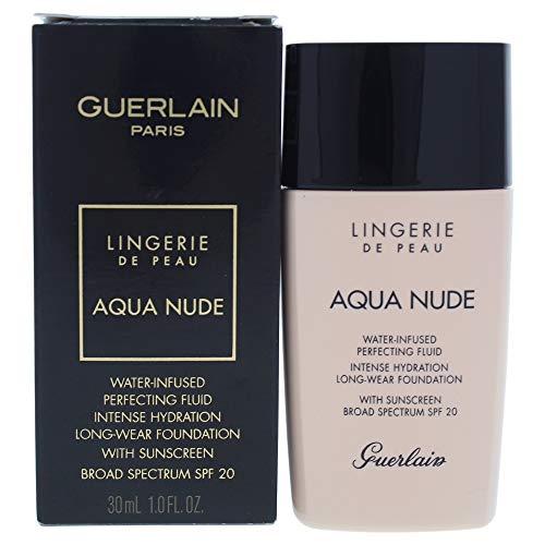 Guerlain Lingerie De Peau Aqua Nude Foundation 02N Light, 30 ml