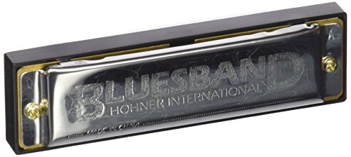 Hohner Blues Band M55910X - Armónica diatónica de 20 voces
