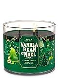 Bath & Body Works Vanilla Bean Noel Scented 3-Wick Candle