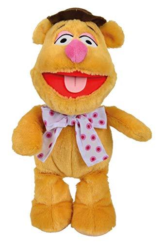Simba 6315873617 - Disney Die Muppets - Fozzy, Plüsch, 25 cm