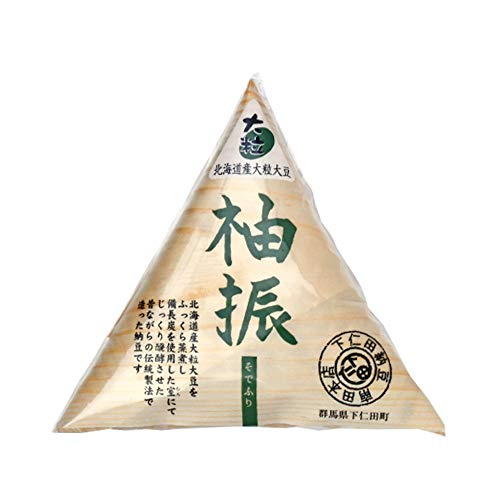 そでふり 100g×8 下仁田納豆 北海道産大粒大豆100%使用 炭火発酵