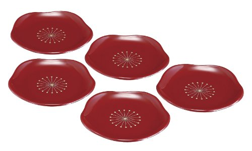 東出漆器 3.0梅小皿 しべ付 22131