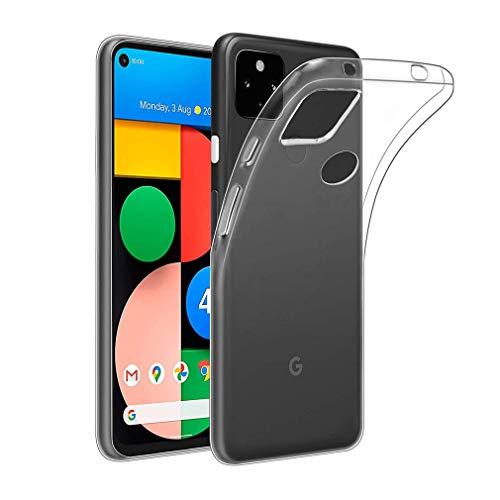 Schutzhülle für Google Pixel 4A 5G 15,7 cm (6,2 Zoll) – ultradünne Silikon-Gel-Schutzhülle für Google Pixel 4A 5G