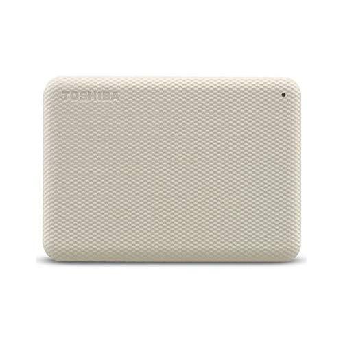 Toshiba Canvio Advance - Disco Duro (4 TB, 2,5), Color Blanco