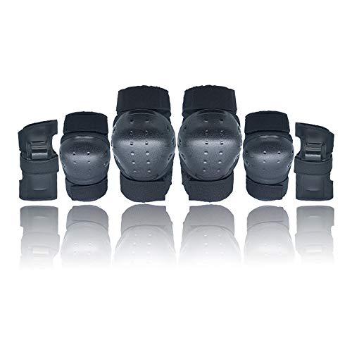 ADTS Schutzausrüstung für Kinder/Jugendliche/Erwachsene Knieschützer, Schutzausrüstung für Skateboard, Rollschuhlaufen, Inlineskaten, Snowboarden, Radfahren