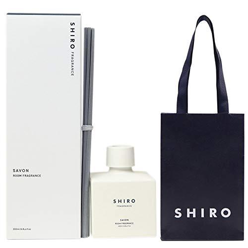 【正規紙袋付き】シロ shiro ルーム フレグランス スティック サボン ルームフレグランス 200ml 新生活 プレゼント