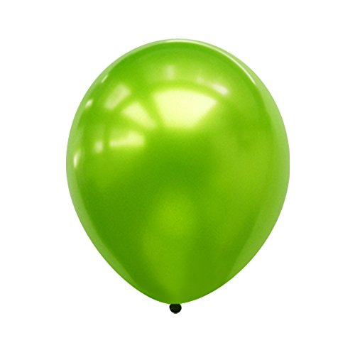 Neo LOONS 5 Pearl Lime Green Premium Latex Balloons -- Great for Kids , Adult Birthdays, Weddings , Receptions, Baby Showers, Water Fights, or Any Celebration, Pack of 100