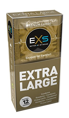 EXS Magnum 12 XXL-Kondome - Kondome für den großen Penis: ausreichend Platz mit 60mm Breite