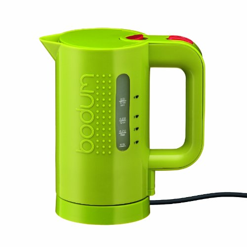Bodum 11451-565US 17-Ounce Electric Water Kettle, Green