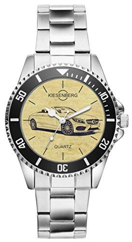 KIESENBERG Uhr - Geschenke für Mercedes C Klasse Cabriolet Fan 6303