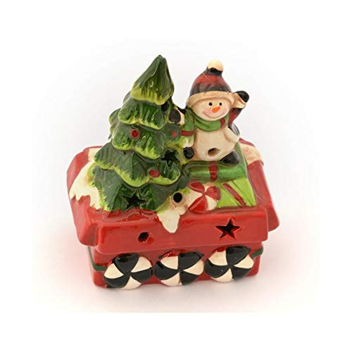 FEERIC LIGHTS & CHRISTMAS - Statuetta di Natale Luminosa Renne, con Regali