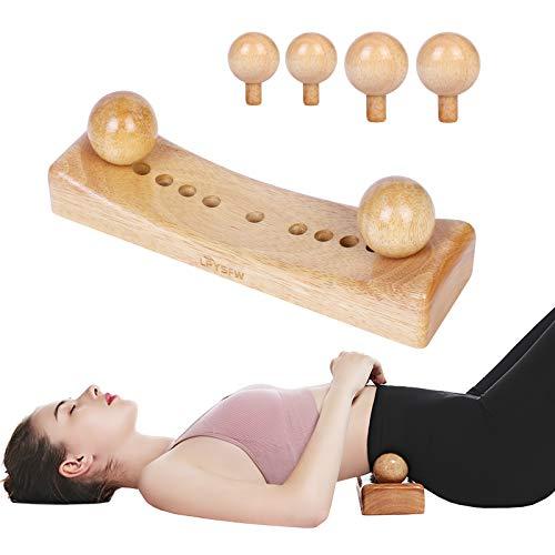Psoas Muskel Release Tool und Triggerpunkt Massagegerät persönliche Körpermassage zur Entspannung des Rückenbeckens, Triggerpunkt Physiotherapie mit 6 Massageköpfen