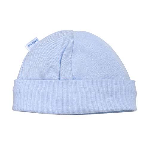 Cambrass 12892 - Gorro de tricot para recién nacidos, talla 52 cm, color celeste