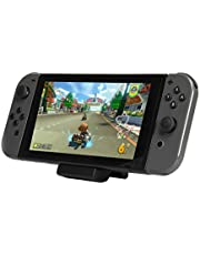 iMW - Soporte de carga para Switch compatible con todas las consolas Nintendo (negro)