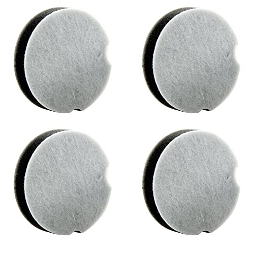 BIHARNT 4 Pack Replacement Filter Compatible with Bissell PowerForce Compact Lightweight Upright Vacuum Cleaner 1520 2112 Series. Compare to Part #1604896/160-4896