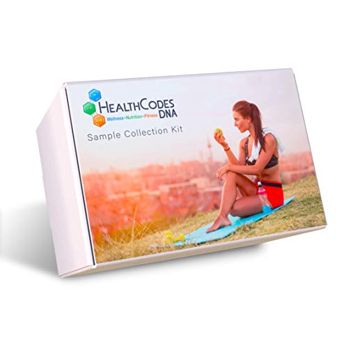 HealthCodes DNA™ – Premium DNA Kit for Health, Nutrition, Fitness Programs – Lab Fee Not Included