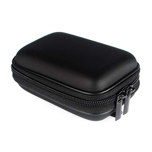 Cansenty Kameratasche für Canon G9X G7 X G7X Mark II SX730 SX720 SX710 SX700 SX610 SX600 N100 SX280 SX275 SX240 S130 S120 S110 Schwarz
