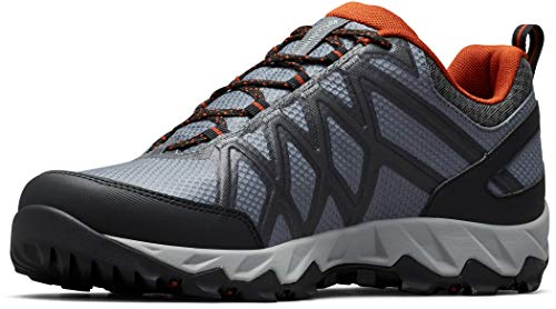 Columbia Mens 1864991053_45 trekking shoes, Grau (Graphite, Dark Adobe 053), EU
