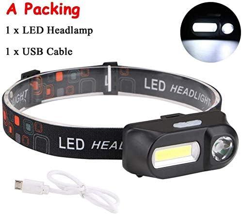 HUIZHANG Ranking TOP17 Headlamp Mini XP-G Q5 Charging security Riding Head USB