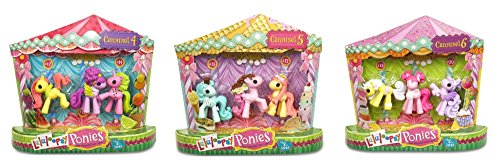 Lalaloopsy Ponies Carousel Bundle Fruit, Ice-Cream & Cup Cake Sets