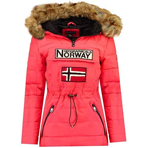 Geographical Norway Belinda Lady - Parka De Mujer Cálida - Abrigo Impermeable...