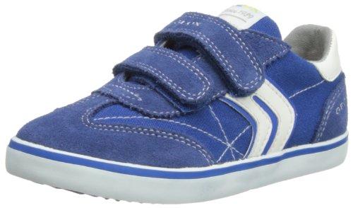 Geox B Kiwi B.D, Baskets Mode bébé garçon - Bleu (Avio/White), 27 EU