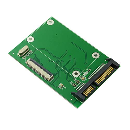 cablecc 40 Pin ZIF CE 1,8 Zoll SSD/HDD zu SATA Adapter Board mit LIF Flachkabel