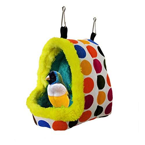 Zachte Vogel Huis Hamster Huis Cavia Hangmat Rat Hangmatten Voor Kooi Hamster Kooi Accessoires Kleine Huisdier Bed Eekhoorn Slaapzak m