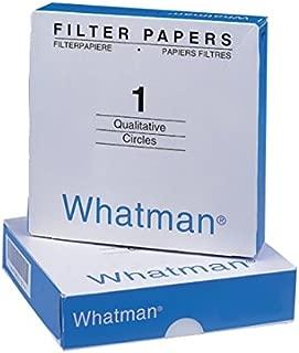 Whatman 1001-125 Qualitative Filter Paper Circles, 11 Micron, 10.5