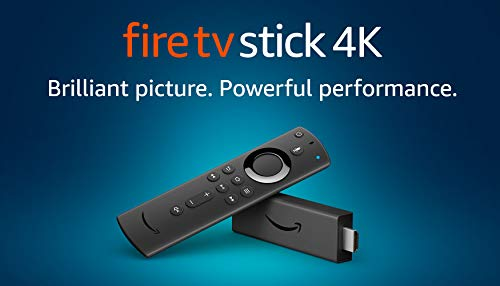 Fire TV Stick 4K Ultra HD with Alexa Voice Remote | streaming media player