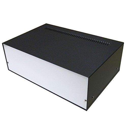 300x 200x 100mm Professionelle Qualität Aluminium Gehäuse Project Schreibtisch Box für elektronische