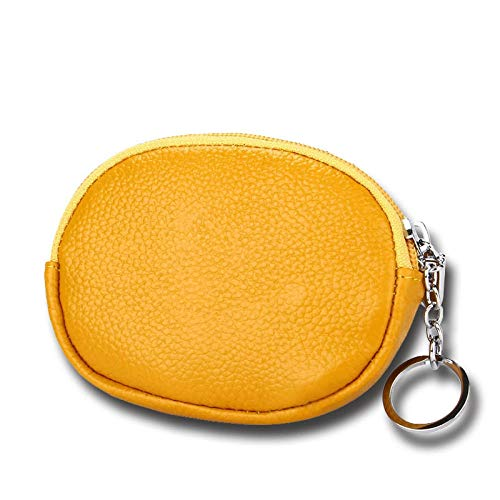 Cosmetic Bag Coin Purse-Pink Cosmetic Storage Bag Women's Bags (Color : Yellow)