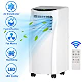 Toolsempire Portable Air Conditioner,8000BTU,Refrigeration,Dehumidification,Circulating Air,For 230sq,With remote control and Washable Filter