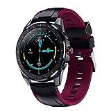 OH Sn88 Smart Watch para Hombres, 1,28 Pulgadas Ip68 Smartwatch Impermeable con Ritmo Cardíaco Monitor Fitness Tracker, para Android Ios Regalo de vacaciones/D