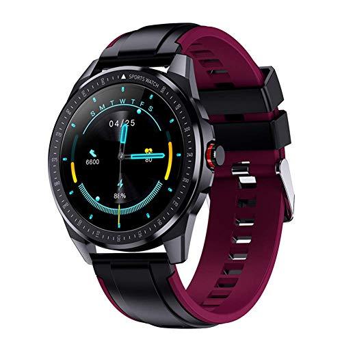 TIANYOU Sn88 Smart Watch para Hombres, 1,28 Pulgadas Ip68 Smartwatch Impermeable con Ritmo Cardíaco Monitor Fitness Tracker, para Android Ios Regalo de vacaciones/D