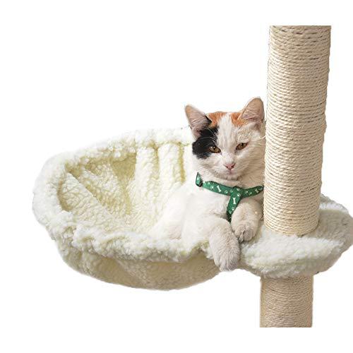 【RAKU】 木登りタワー 替えハンモック 直径40cm耐荷重UP 拡張パーツ 木登りタワー」の追加・交換用 ハンモック 猫 はんもっく キャットハンモック キャットタワーハンモックの写真