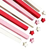 1080 hojas coloridas Origami Star Papers Diy Lucky Paper Strips