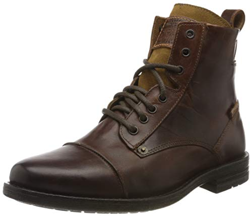 Levi's Herren Emerson Kurzschaft Stiefel, Braun Medium Brown, 43 EU