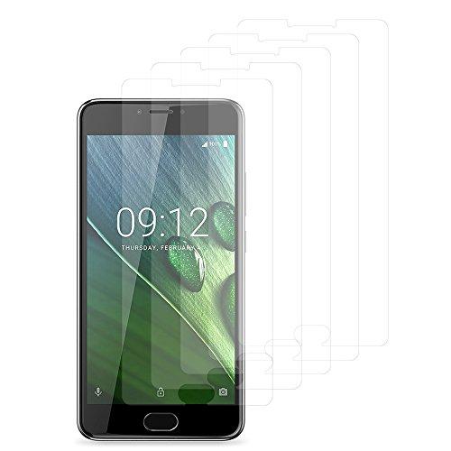 VComp-Shop® 5x Transparente Bildschirmschutzfolie für Acer Liquid Z6 Plus 5.5