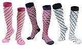 Longwu (8 paires/(3 paires) Chaussettes de Compression pour Hommes et Femmes,...