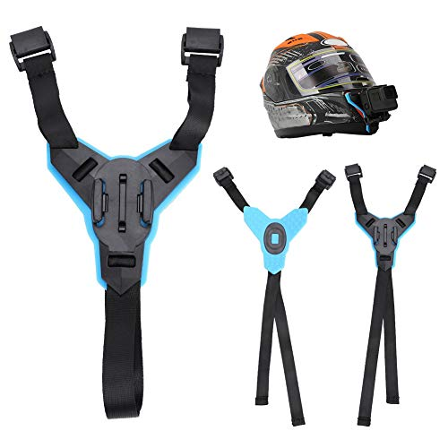 Topiky kinhouder, motorfietshelm, riemhouder met frame, behuizing voor GoPro Hero 6/5/4 series/voor DJI OSMO Sports Camera/voor XiaoYi series/voor SJCAM