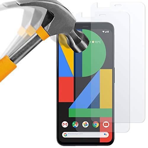 moodie Panzerglas Folie für Google Pixel 4 XL [2 Stück] Premium Schutzfolie Glasfolie 9H Panzerglasfolie für Pixel 4XL