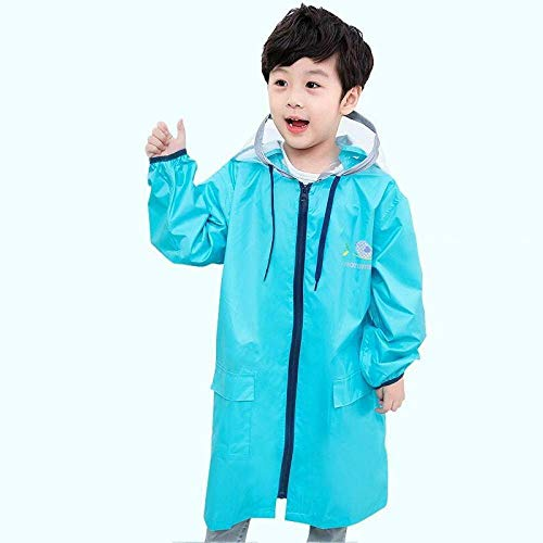 80-140cm Waterproof Raincoat for Children Kids Baby Rain Coat Poncho Boys Girls Primary School Students Rain Poncho Jacket, C